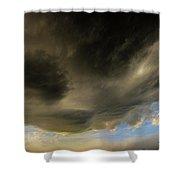 Kansas Storm Chasing 015 Shower Curtain