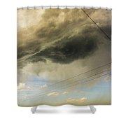 Kansas Storm Chasing 016 Shower Curtain