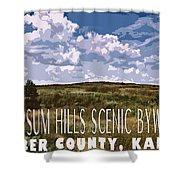 Kansas Travel Image Four Shower Curtain