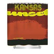 Kansas Travel Image Nine Shower Curtain