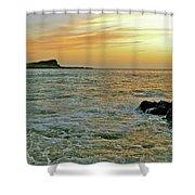 Kaohikaipu Island Sunrise  658 Shower Curtain