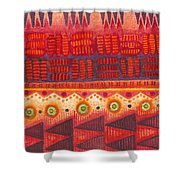 Kapa Pattern 4 Shower Curtain