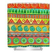 Kapa Patterns 10 Shower Curtain