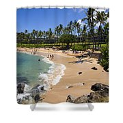 Kapalua Beach Resort Shower Curtain