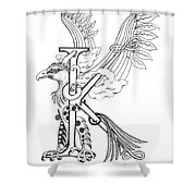 Kappa Eagle Shower Curtain