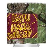 Kapu Hana Wharf Shower Curtain