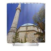 Karadoz Bey Mosque, Mostar, Bosnia And Herzegovina Shower Curtain