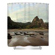 Karekare Beach Shower Curtain