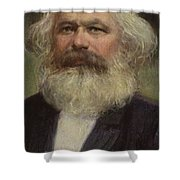 Karl Marx  Shower Curtain