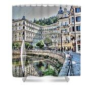 Karlovy Vary Chehia Shower Curtain