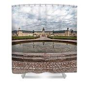 Karlsruhe Palace View Shower Curtain