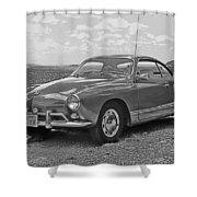 Karmann Ghia Coupe I I I Shower Curtain