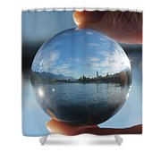 Kaslo Through The Looking Glass Shower Curtain