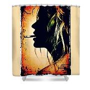 Kate Moss Shower Curtain