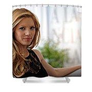 Katheryn Winnick Shower Curtain