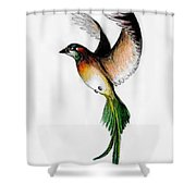 Kathleen's Bird Shower Curtain