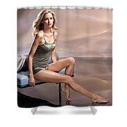 Kathrin Werderitsch Shower Curtain