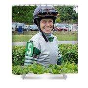 Katie Davis - Laurel Park 2 Shower Curtain