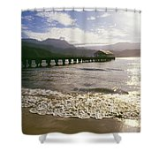 Kauai, Hanalei Bay Shower Curtain