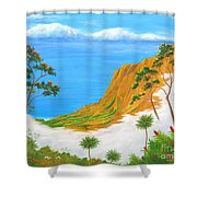 Kauai Hawaii Shower Curtain