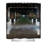 Kauai Pier Shower Curtain