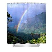 Kauai Rainbow Shower Curtain