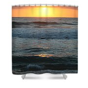 Kauai Sunrise Shower Curtain
