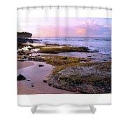 Kauai Tide Pools At Dawn Shower Curtain