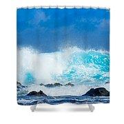 Kauai Waves Shower Curtain