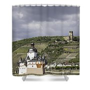 Kaubs Two Castles Shower Curtain