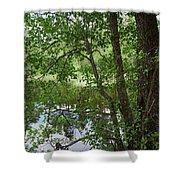 Kaulanen Lake Shower Curtain