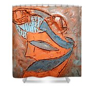 Kaweeke - Tile Shower Curtain