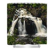 Kawishiwi Falls Shower Curtain