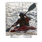 Kayak 2 Shower Curtain