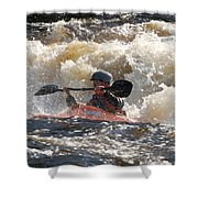 Kayak 6 Shower Curtain