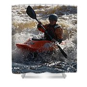 Kayak 7 Shower Curtain