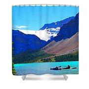 Kayak Heaven Shower Curtain