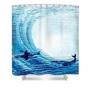 Kayak Passion Shower Curtain