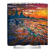 Kayak Serenity  Shower Curtain