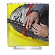Kayakeer Hands Shower Curtain