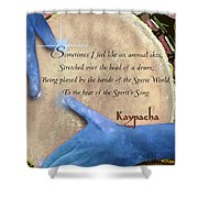 Kaypacha  May 18, 2016 Shower Curtain