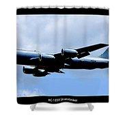 Kc-135r Stratotanker Poster Shower Curtain