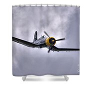 Kd 345 Corsair Iv Shower Curtain