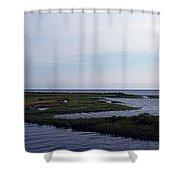 Keaton Beach Wetland Shower Curtain