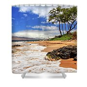 Keawakapu Beach - Mokapu Beach Shower Curtain