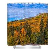 Kebler Pan Shower Curtain