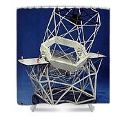 Keck Observatorys Ten Meter Telescope Shower Curtain