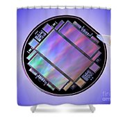 Keck Telescope Ccd Imager Shower Curtain