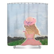 Keeghan Of The Field Shower Curtain