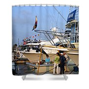 Keels And Wheels Yachta Yachta Yachta Yachta Shower Curtain